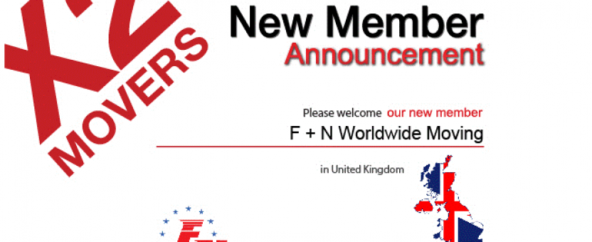 F&N Worldwide Featured as New Member of X2Movers